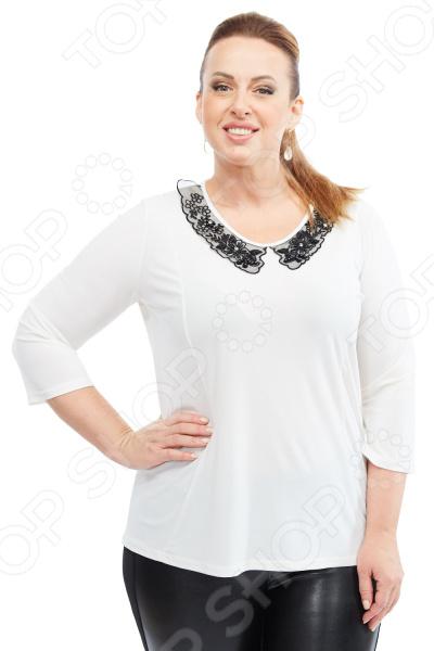 Блуза Лауме-стиль «Заветное признание». Цвет: белый блуза лауме стиль заветное признание цвет черный