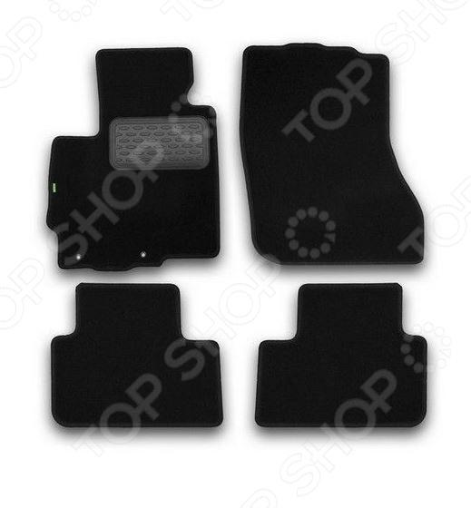 Комплект ковриков в салон автомобиля Klever Mitsubishi ASX 2010 Standard