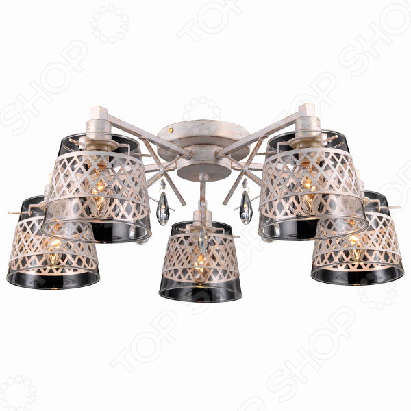 Люстра Natali Kovaltseva Lyon 75084-5c Ivory Gold люстра natali kovaltseva lyon 75084 3c ivory gold