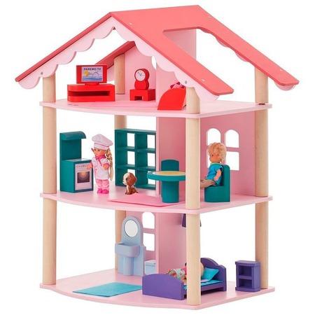 Купить Кукольный дом с аксессуарами PAREMO «Роза Хутор»