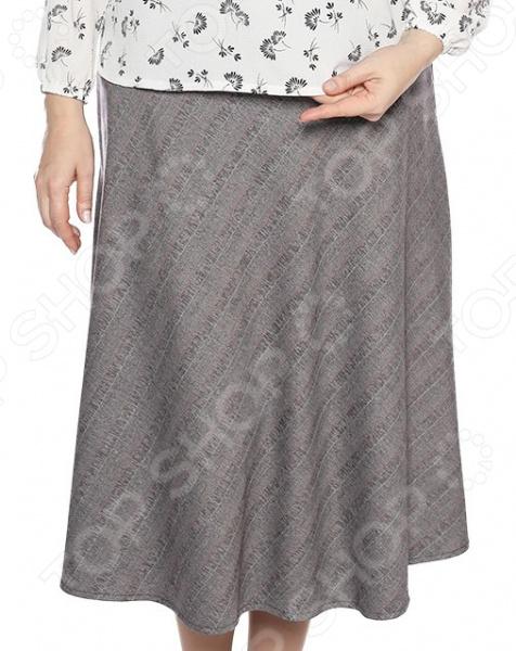 Юбка Лауме-Лайн «Дуэт». Цвет: коричневый юбка лауме лайн волшебная улыбка цвет коричневый