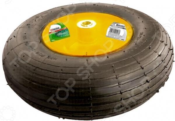 Колесо для тачки пневматическое PALISAD 4.00-6 колесо пневматическое кратон 5 06 03 020 13 для тачки wb 100h