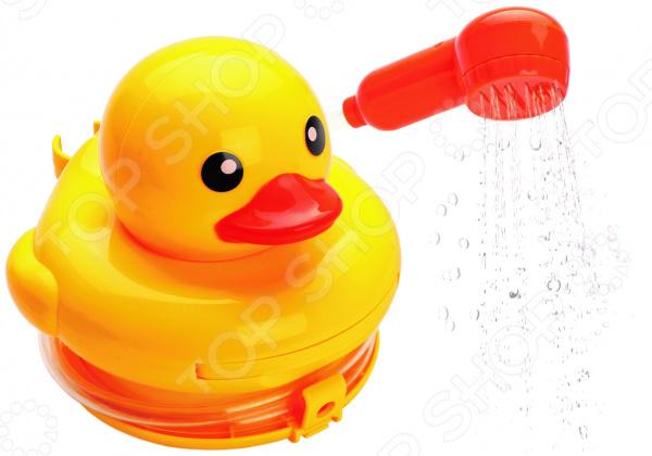 Игрушка для ванны детская Жирафики «Утенок-душ» игрушки для ванны hevea alfie junior игрушка для ванной из каучука утенок
