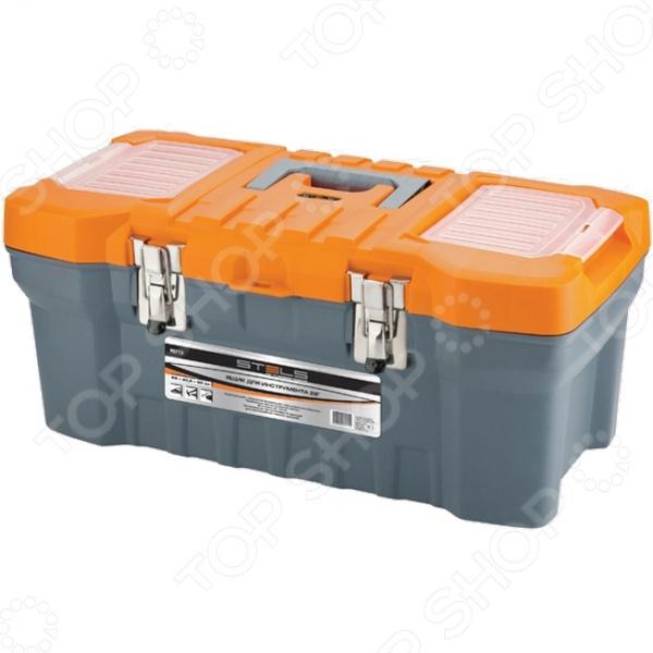 Ящик для инструментов Stels 90713 ящик для инструментов stels 22 28х23 5х56см 90713