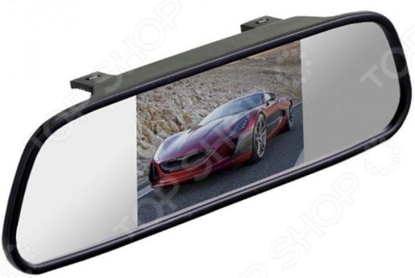 Зеркало заднего вида с монитором SilverStone F1 Interpower IP Mirror