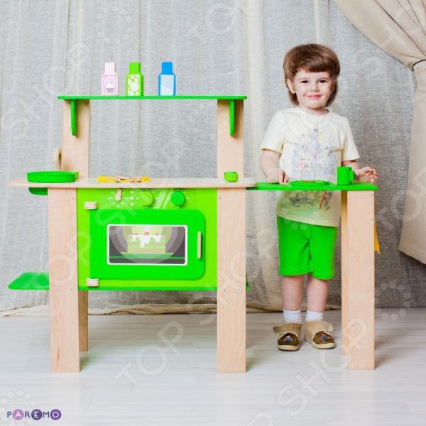 Кухня детская с аксессуарами PAREMO «Мятный Лимонад»