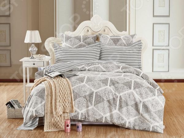 Комплект постельного белья Cleo 401-SK комплекты постельного белья cleo постельное белье hunter 2 спал