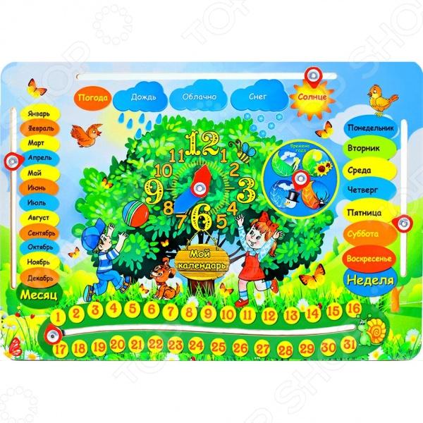 Игра обучающая Мастер игрушек «Обучающая доска: Календарь» Игра обучающая Мастер игрушек «Обучающая доска: Календарь» /