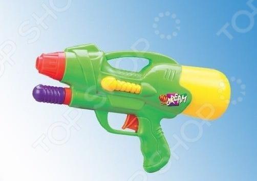 Пистолет водный 1719296 водный пистолет тилибом с помпой 45см красный для мальчика