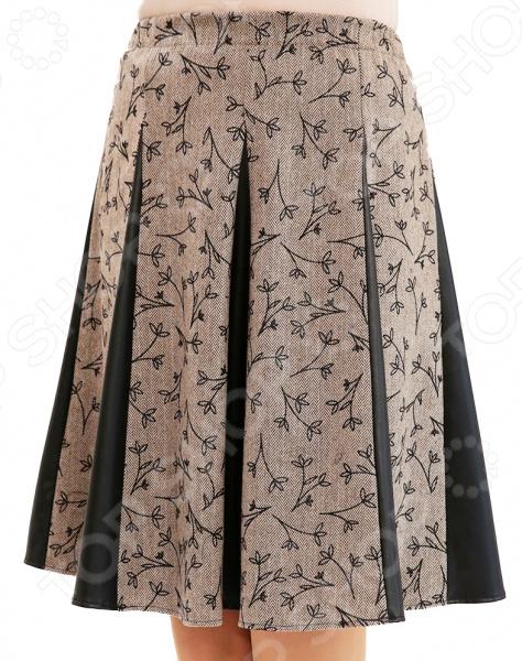 Юбка Лауме-Лайн «Волшебная улыбка». Цвет: бежевый юбка лауме лайн волшебная улыбка цвет коричневый