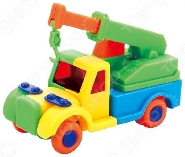 Конструктор игровой для ребенка 1 Toy «Подъемный кран» цена