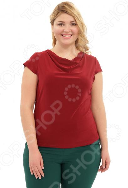 Блуза Лауме-Лайн «Сластена». Цвет: бордовый
