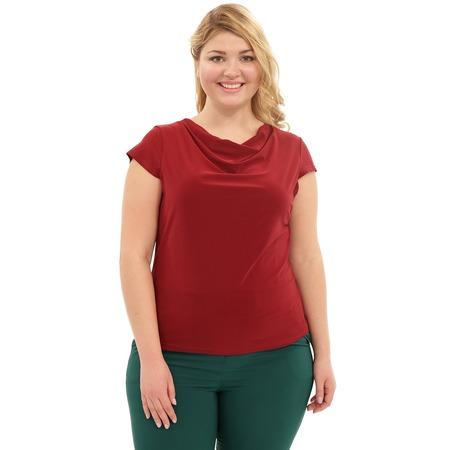 Купить Блуза Лауме-Лайн «Сластена». Цвет: бордовый