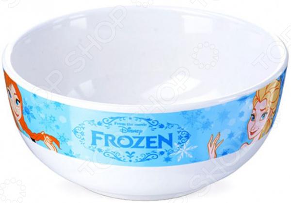 Тарелка суповая детская Mayer&Boch Frozen Disney посуда для детей disney hm1602