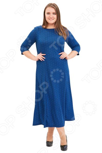 Платье Гранд Гром «Сердца трех». Цвет: синий сердца трех cdmp3