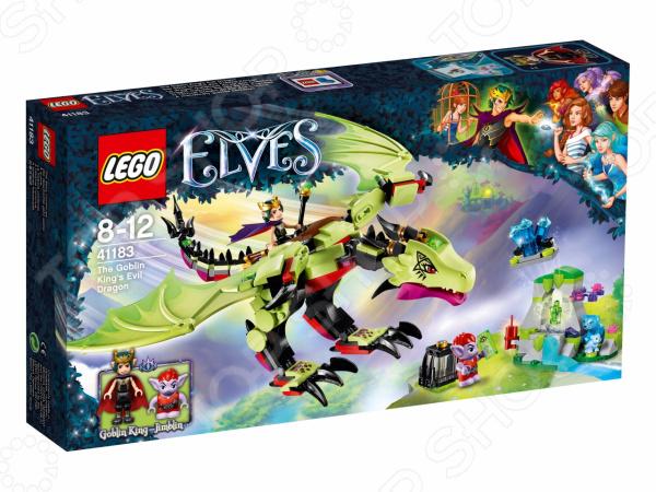 Конструктор игровой LEGO Elves «Дракон Короля Гоблинов»