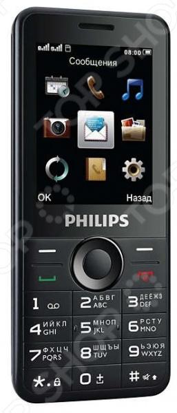 Мобильный телефон Philips Xenium E168 philips e168 черный