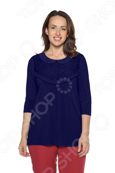 Блуза Pretty Woman «Волшебный взгляд». Цвет: темно-синий блуза pretty woman волшебный взгляд цвет зеленый