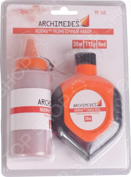 Набор разметочный Archimedes 90160 имитация кирпичной кладки в ижевске