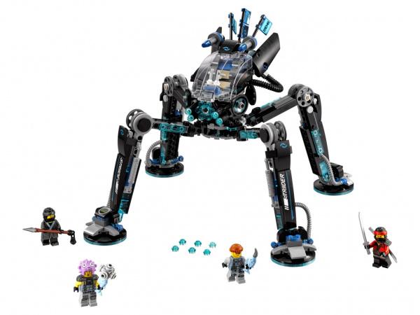 Конструктор игровой LEGO Ninjago «Водяной Робот» 2017 new baby rompers winter thick climbing clothes newborn boys girls warm romper knitted sweater hooded outwear