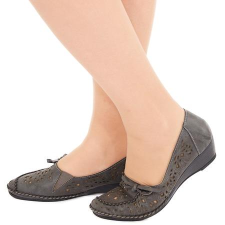 Купить Туфли EGO «Романтика». Цвет: темно-серый