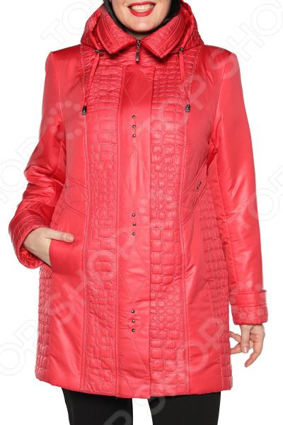 Куртка Pit.Gakoff «Прохладный романс». Цвет: красный