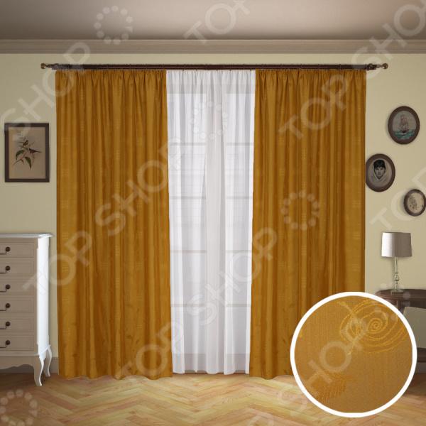 Комплект: шторы и тюль Синель «Альянс» 715