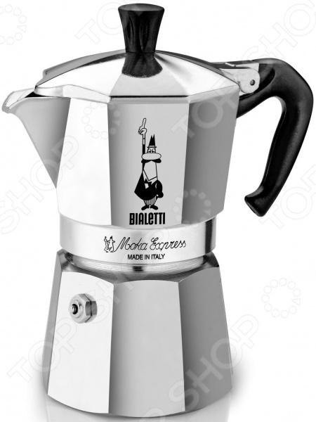 Bialetti Moka Express гейзерная кофеварка bialetti moka express 4 порции 1164