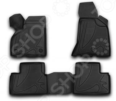 Комплект 3D ковриков в салон автомобиля Novline-Autofamily LADA Priora 2010 комплект 3d ковриков в салон автомобиля novline autofamily volkswagen touareg 2010 2015 2015