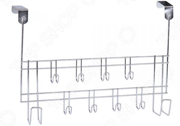 Вешалка на дверь Rosenberg 10 крючков вешалка для одежды на колесах купить