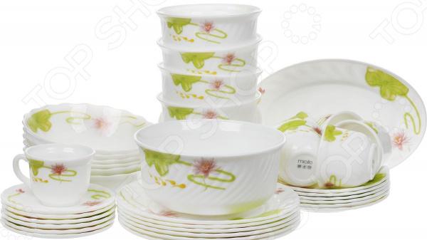 Сервиз столовый Miolla «Полина» тарелка десертная miolla изящество