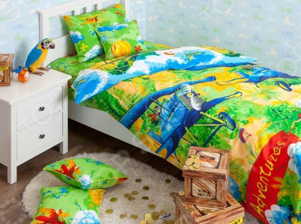 Детский комплект постельного белья Хлопковый Край Самолеты