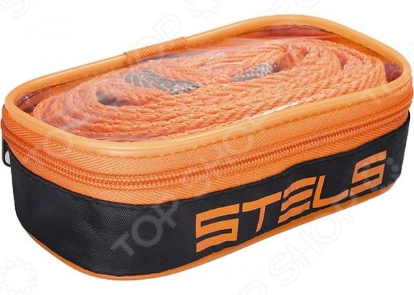 Трос буксировочный с крюками и сумкой на молнии Stels