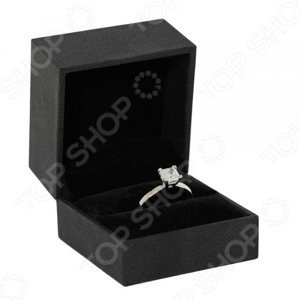 Серебряное кольцо с фианитом Andreana «Принцесса»