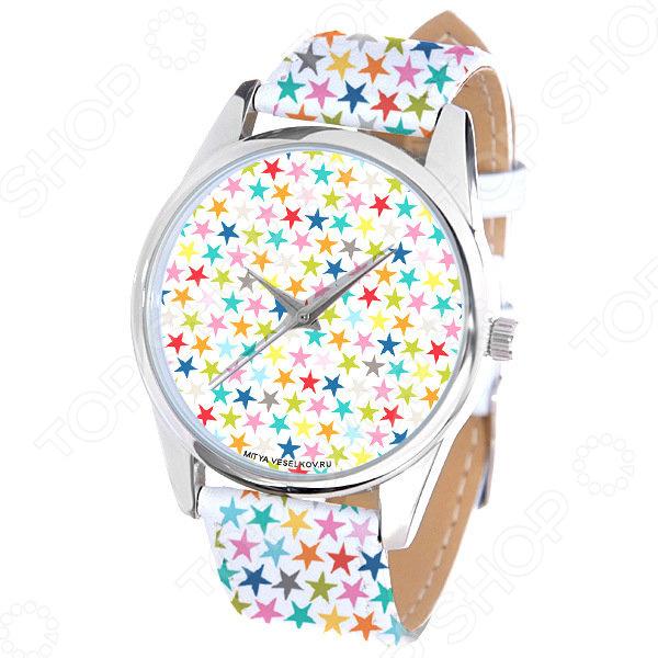 Часы наручные Mitya Veselkov «Звездочки» ART
