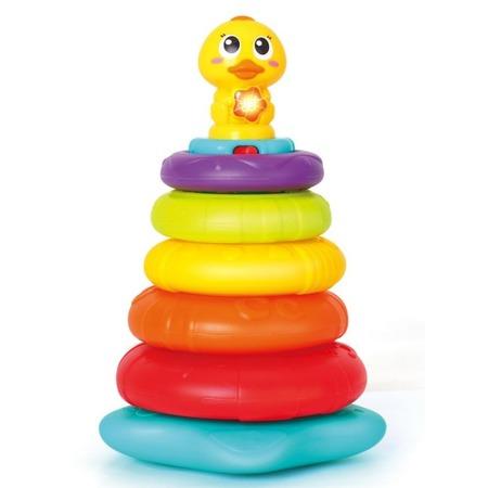 Купить Игрушка музыкальная Huile Toys «Пирамидка»