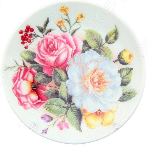 Zakazat.ru: Тарелка декоративная Elan Gallery «Букет с розами»