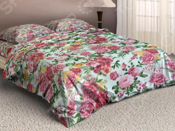 Комплект постельного белья «Лужайка». Евро