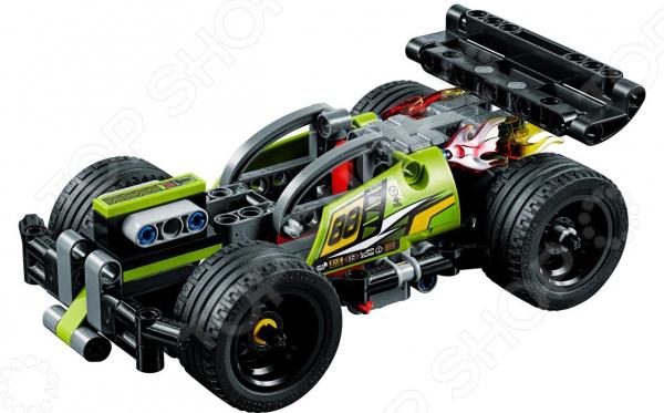 Конструктор-игрушка LEGO Technic «Зеленый гоночный автомобиль»