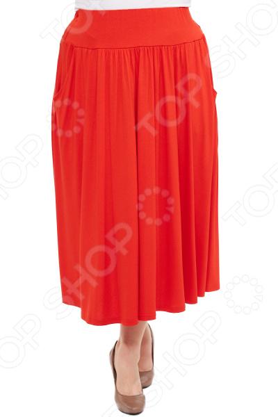Юбка Матекс «Изабелина». Цвет: красный юбка laura amatti изабелина цвет бордовый