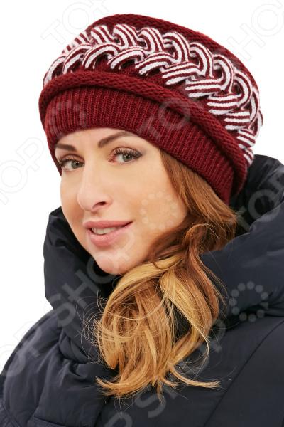 Шапка «Красивое плетение»