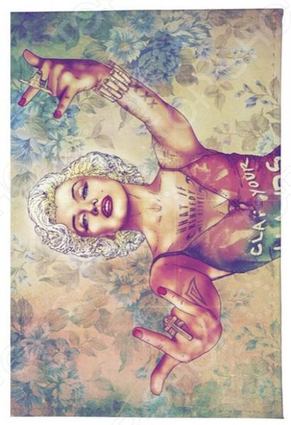 Обложка для автодокументов кожаная Mitya Veselkov «Мерлин-Мадонна»
