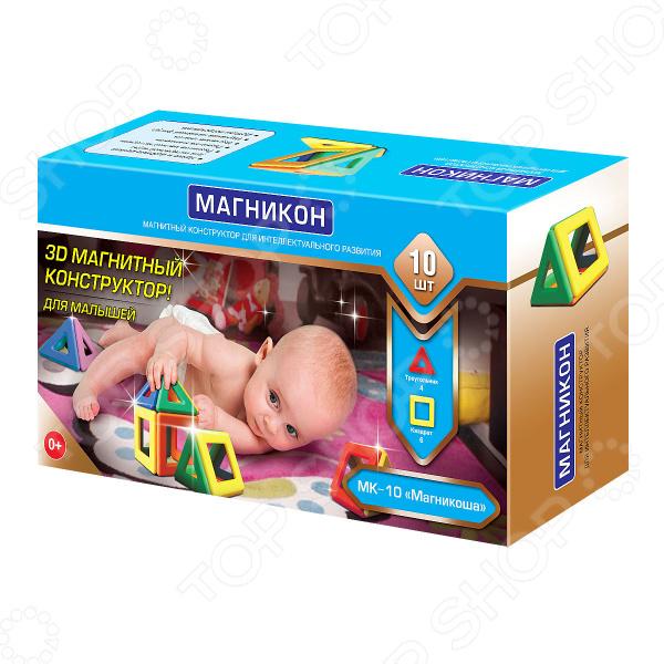 Zakazat.ru: Конструктор для малышей Магникон «Магникоша» МК-10