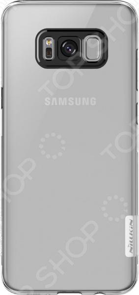 Чехол защитный Nillkin Samsung Galaxy S8 оригинальный samsung galaxy s8 nillkin супер матовый корпус защиты щит случай телефона