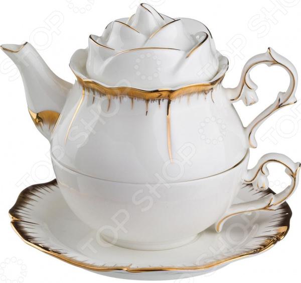 Чайник заварочный Lefard «Цветочная симфония» 590-056 чайный набор lefard цветочная симфония 590 004