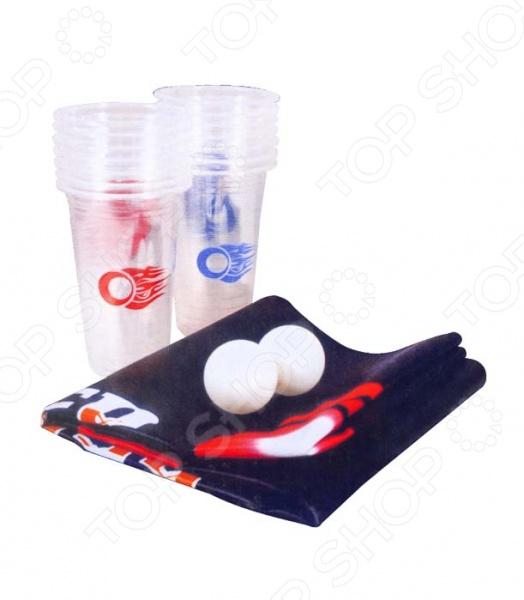 Игра для компании Boyscout Beer Pong стакан boyscout складной 200 мл