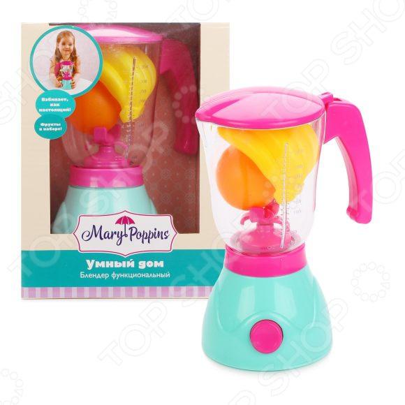 Блендер игрушечный Mary Poppins «Умный дом» утюг mary poppins умный дом