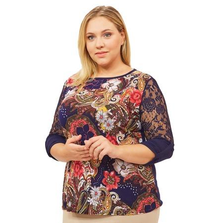 Купить Блуза Матекс «Элина». Цвет: красный