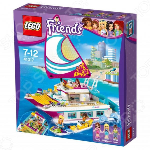 Конструктор игровой LEGO Friends «Катамаран Саншайн» конструктор lego friends 41129 парк развлечений фургон с хот догами