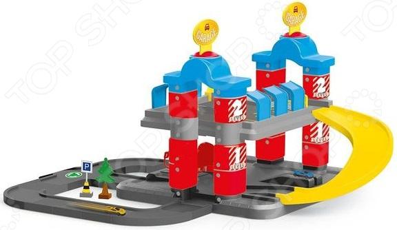 Игровой набор с машинками Dolu «Гигант. 2-уровневая парковка»